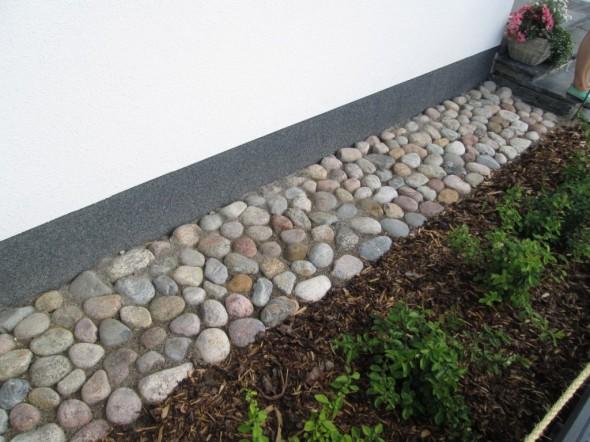 Kauniisti istuvat kivet, tässä ehkä parhaiten onnistunut koko messualueella?