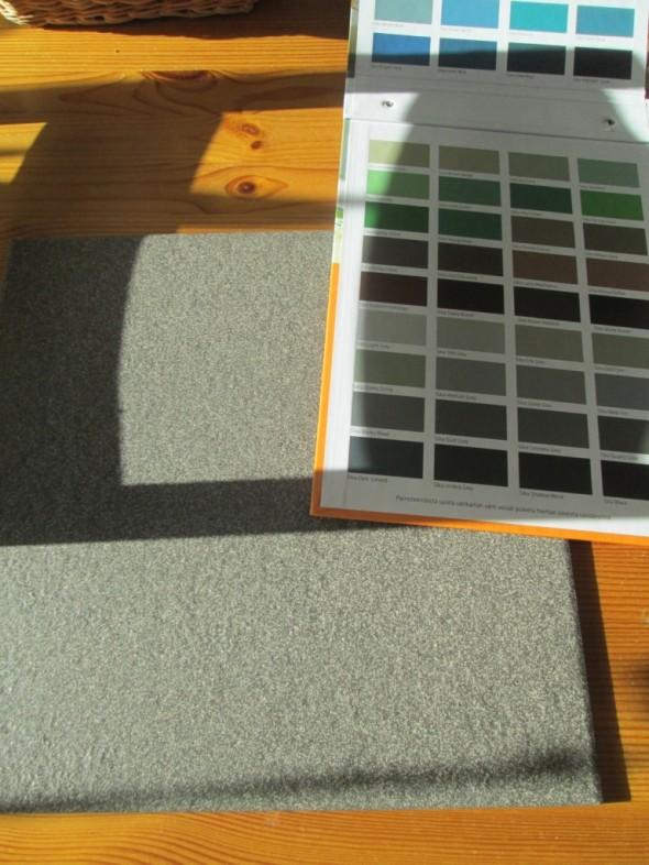 Vääriskaalaa löytyy... Tarkoitus olisi valita muissa huoneissa olevaan laatoitukseen sopiva värisävy, siis joku mahdollisimman lähellä oleva sävy.