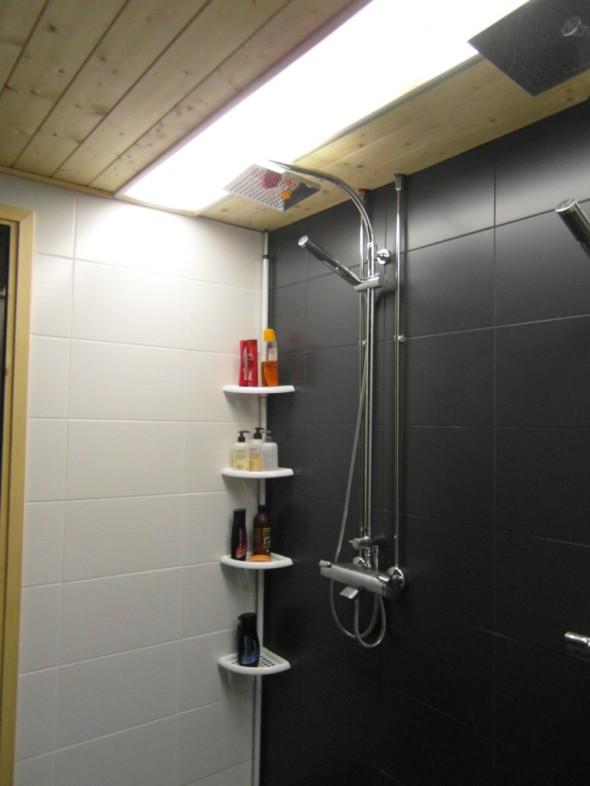25% valoteho (tätä yleensä käytämme kylpiessä).