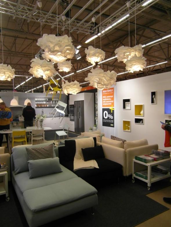 Tässä IKEA:n ständiä - joka oli yllättävää kyllä mielestäni tällä kertaa kaikkein mielenkiintoisin.