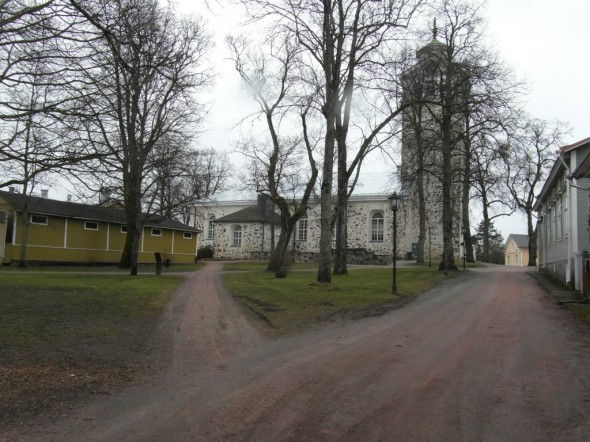 Tammisaaren kirkko.