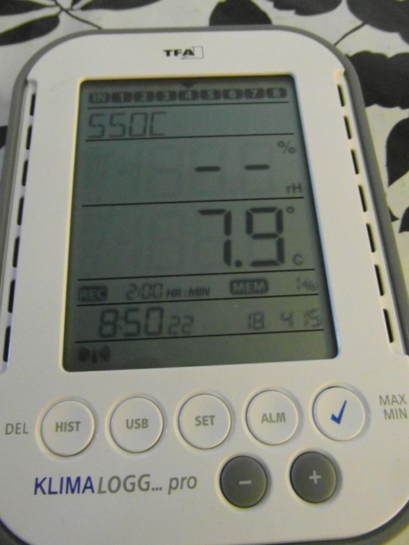 Viimeisenä salaojapumppaamo, jonne ei tarvitse kurkistaa. Siellä on radioteitse etänä luettava mittari, jonka mukaan veden lämpötila on +7,9C. Eli vesi lämpenee sitä enemmän, mitä kauemmin se on montussa viipynyt?