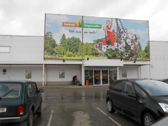 Bauhoffin Tarton myymälää.