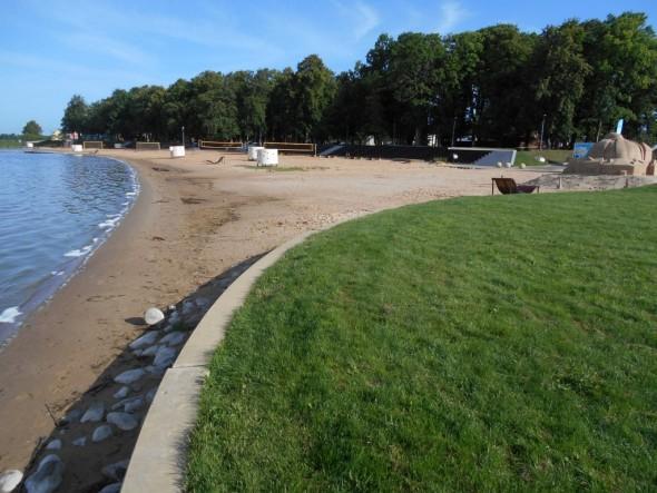 Tamula järven rantaa 25.07.2015 klo 08:00 aamulla.
