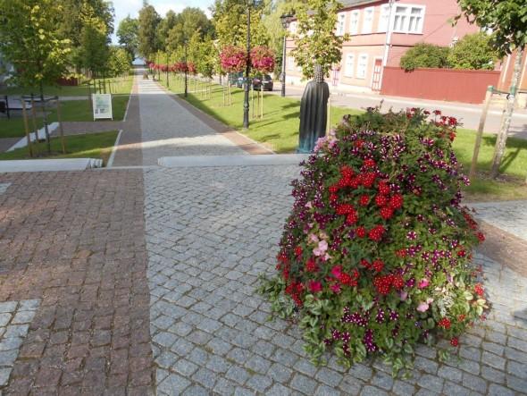 Katariinan kadun ja Kreuzwaldin kadun risteys 25.07.2015.