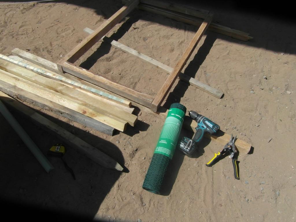 DIY – seula hiekan seulomiseen